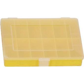 Hünersdorff Assortment box (L x W x H) 250 x 180 x 45 mm No. of compartments: 12 fixed compartments 1 pc(s)