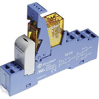 Finder 48.72.8.024.0060 Relay component Nominal voltage: 24 V AC Switching current (max.): 8 A 2 change-overs 1 pc(s)