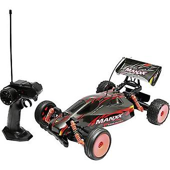 Manxx 1:10 RC model car for beginners Electric Buggy RWD 27 MHz