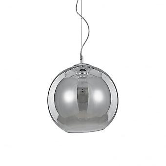 Ideal Lux Nemo Fume Single Pendant Light D30