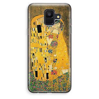 Samsung Galaxy A6 (2018) transparentes Gehäuse (Soft) - Der Kuss