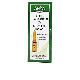Anian syre Hialuronico & kollagen 7 Ampollas X 1 Ml til kvinder