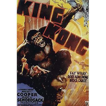 Poster van King Kong. Afbeelding gewenst