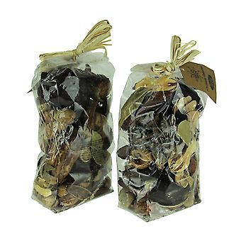 Double Bag Lot of Natural Dried Botanical Decorative Filler