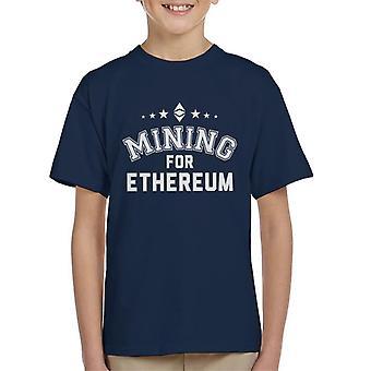 Wyszukiwania dla Ethereum dla dzieci T-Shirt