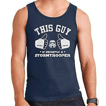 元ストームトルーパーこの男は密かにトルーパー メンズ ベストです。