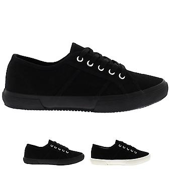 Mens Fashion Plimsolls Festival Lace Up Casual Flat Pumps Shoes Trainer UK 6-14