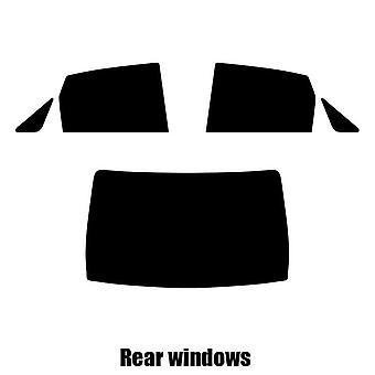 Pre cut window tint - Ford Focus 4-door Saloon - 1999 to 2004 - Rear windows