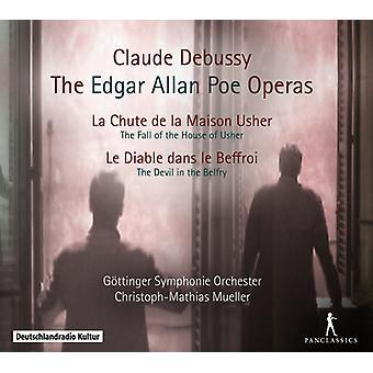 Debussy / Lin Lin Fan / Hartinger / Dazeley - Edgar Allen Poe Operas [CD] USA import