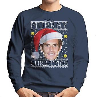Have A Andy Murray Christmas Knit Men's Sweatshirt