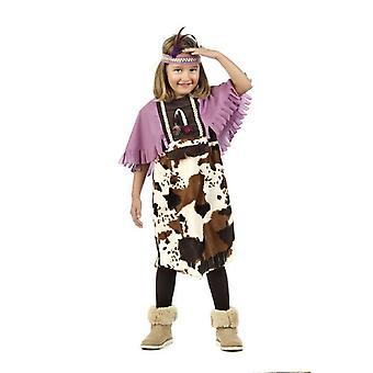 Indianerin Mädchkostüm Squaw Präriegirl Kinderkostüm