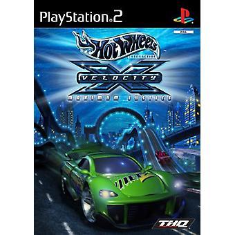 Hot Wheels Velocity X (PS2) - New Factory Sealed