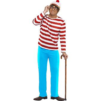 "Where's Wally? Costume, Chest 46""-48"""
