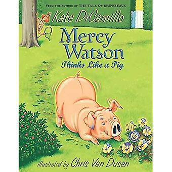 Misericordia Watson pensa come un maiale