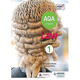 AQA A-nivå lovgivning for år 1/som