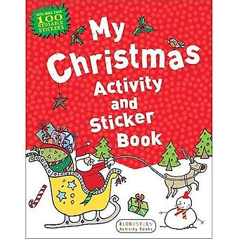 Mon activité de Noël et le livre de collants