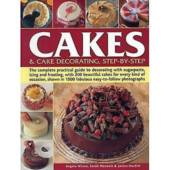 Taarten & Cake versieren, stapsgewijze