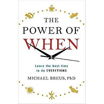 Kraften i när: Lär dig den bästa tiden att göra allt