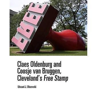 Claes Oldenburg ja Coosje Van Bruggen, Cleveland's ilmaisen leima: Cleveland's ilmaisen leima