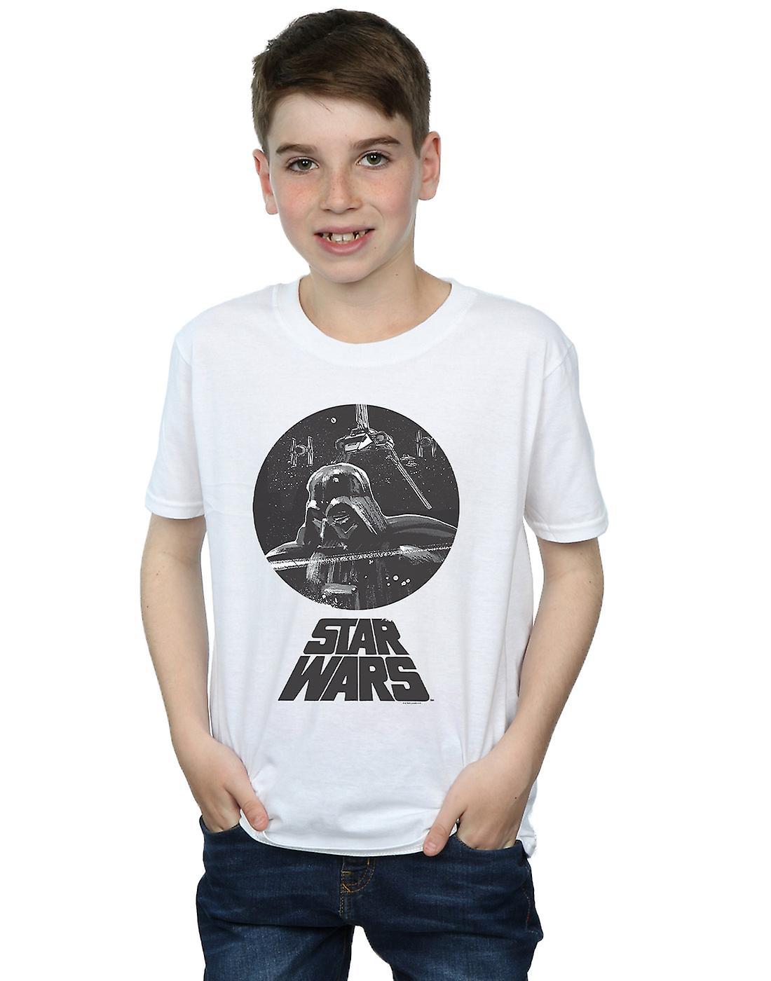 Star Wars Boys Darth Vader Bust T-Shirt