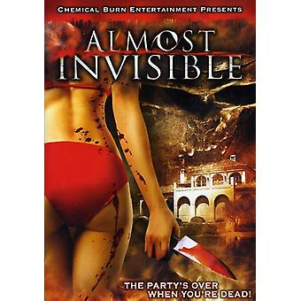 Almost Invisible: The Party's Over when [DVD] USA import