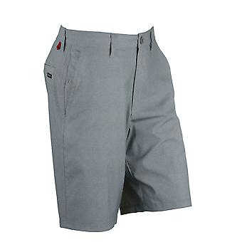 RVCA Mens VA Sport Benefits Hybrid Shorts - Silver Gray - surf skate swim
