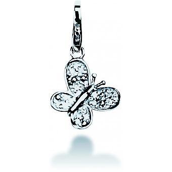 Pierre Lannier JC99A050 - Charm pendant silver Butterfly woman charm