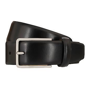 SCHUCHARD & FRIESE belt men's belt leather belt black 7993