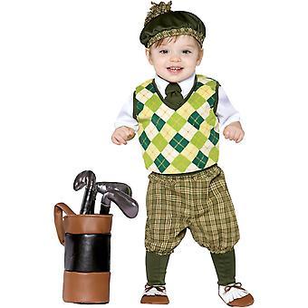 Zukünftige Golfer Kleinkinder Kostüm 2