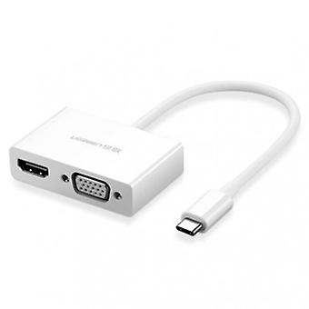 UGreen Type C To HDMI And VGA Converter