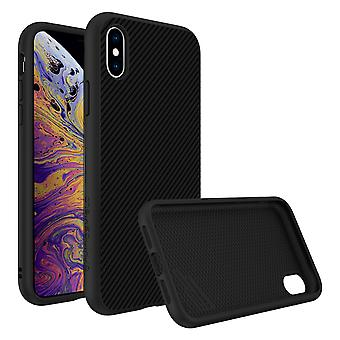 iPhone Case X / XS Carbon Protection SolidSuit Series by Rhinoshield black
