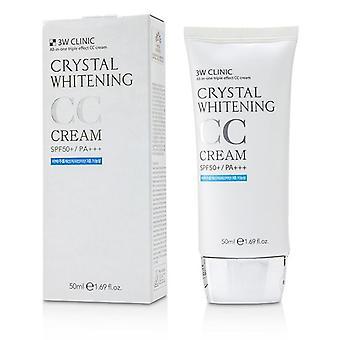 3w Klinik Kristall aufhellen Cc Creme Spf 50+/pa+++ - #01 Glitter Beige - 50ml/1,69 Oz