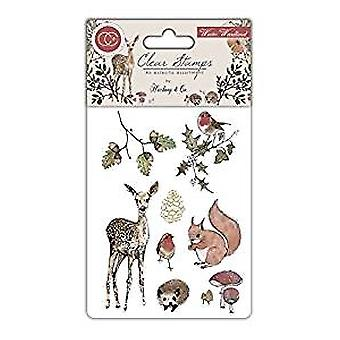 Craft Consortium Winter Woodland Clear Stamps