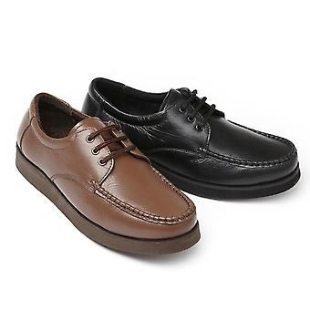 Leather Featherweight Shoes (Pair) - Lace-Up