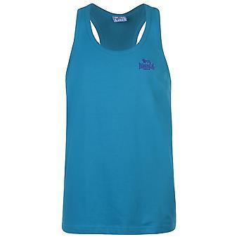 Lonsdale mens spier vest mouwloos Tank Top Tee T-shirt T shirt