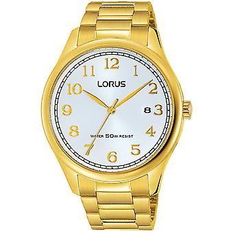 Lorus classic man Quartz Analog Man Watch with RS914DX9 Stainless Steel Bracelet