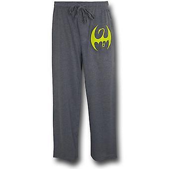 Iron Fist Symbol Grey Sleep Pants