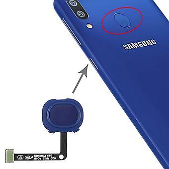 Fingerprint Sensor for Samsung Galaxy M20 Blue Spare Part Flex Cable