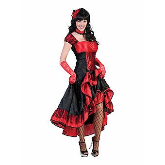 Saloongirl Costume Dress Dancer Women's Costume Western Saloon lady Wild West Bardame Carnival