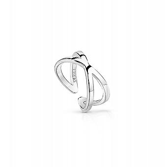 Guess Jewellery Guess Hoops I Did It Again Silver Ring UBR84004-54