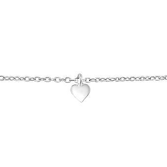 Sydän - 925 Sterling hopea ketjun rannekorut - W38514x