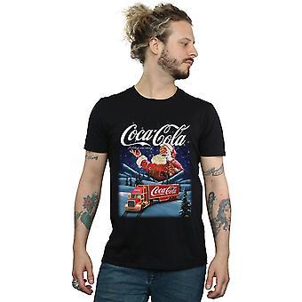 Coca-Cola män ' s Santa Truck T-shirt