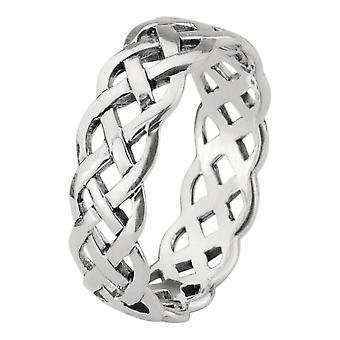 Celtic evigheden knotwork Interlace deisgn ring