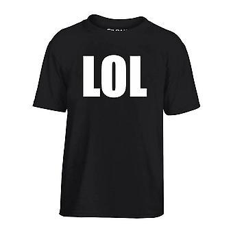 T-shirt bambino nero dec0204 lol