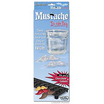 Ice Cube Tray-Archie McPhee-snor 8 slots nieuwe 12297