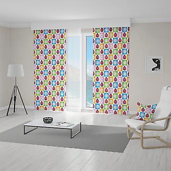Meesoz Curtain - Ladybug Multicolour
