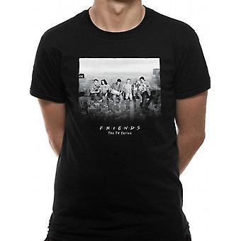 Ystävät-pilvenpiirtäjä T-paita