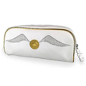 Harry Potter Wash tas gouden snitch