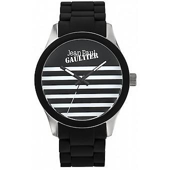 Viser Jean-Paul Gaultier 8501121 - armbånd stål svart tilfellet stål sølv svart kvinne