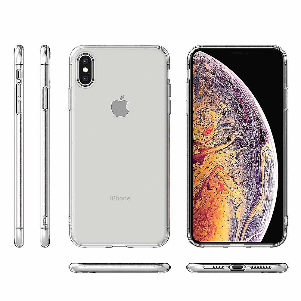 iCoverCase | iPhone X & XS | Transparent Skal